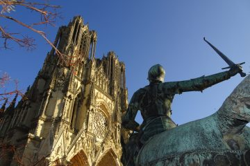 Katedra w Reims i Joanna d'Arc