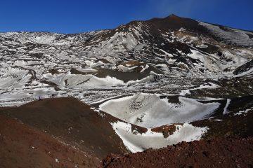 Etna - kratery Silvestri
